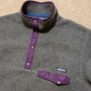 Vintage Men's Patagonia Fleece Sweater Pullover XL